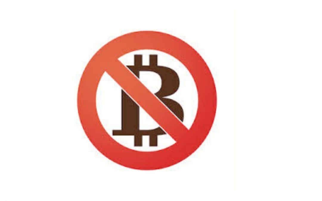 China Bans Bitcoin Again